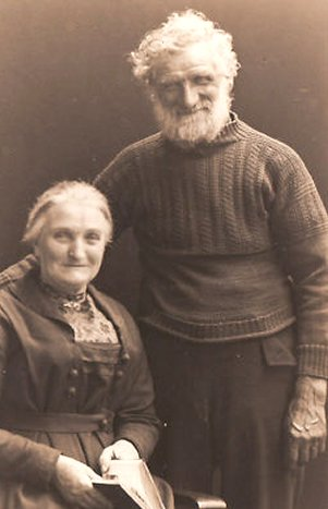Willie & Mary Long of Sheringham by Olive Edis
