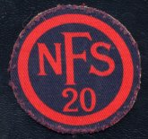 NFS20 (Llanishen) Cloth badge