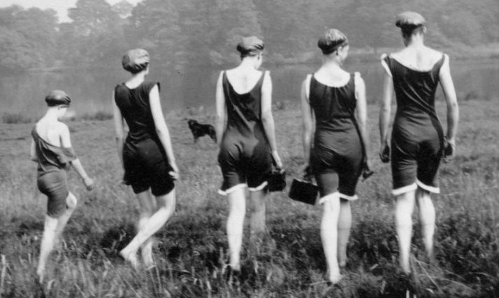 Taken at a Girl Guide camp 1920's