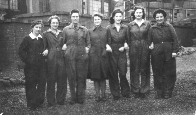 wartime factory workers